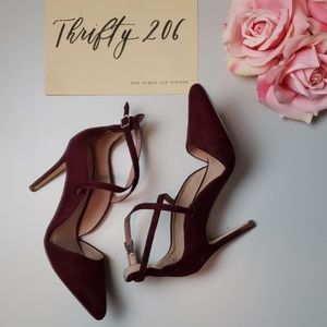 [Call It Spring] Colie D'orsay Pointed Strap Heels